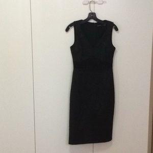 Karen millen new black lace dress (great detail)